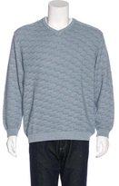 Ermenegildo Zegna Knit V-Neck Sweater