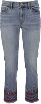 Tory Burch Myers Cropped Boot Jeans
