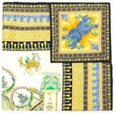 Versace Marco Polo print scarf