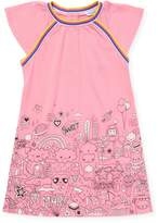 Little Marc Jacobs Little Girl's Graphic T-Shirt Dress
