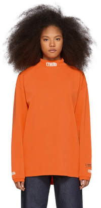 Heron Preston Orange Style T-Shirt
