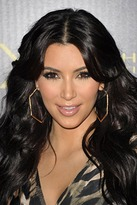 Belle Noel by Kim Kardashian Honey Hexagon Hoop Earrings