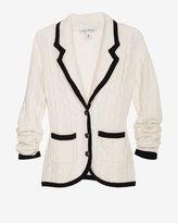 Autumn Cashmere Exclusive Cable Knit Blazer