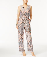 NY Collection Petite Sleeveless Wide-Leg Jumpsuit
