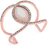 INC International Concepts I.n.c. Pave & Colored Stone Open Cuff Bracelet, Created for Macy's
