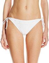 Kenneth Cole New York Women's Deco The Distance String Tie Side Bikini Bottom