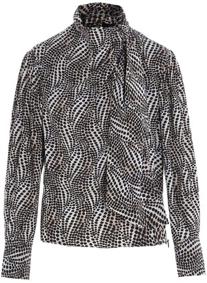 Isabel Marant Ilkeith Patterned Blouse