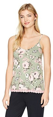 PJ Salvage Women's Coming up Roses Cami