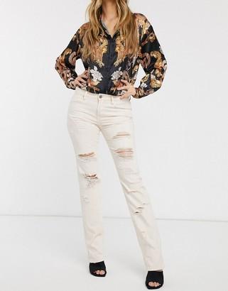 Blank NYC Ditz distressed boyfriend jeans