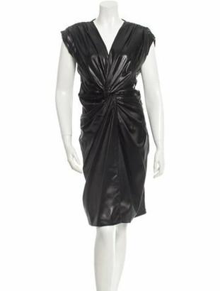 Ruffian Ruched Dress w/ Tags Black