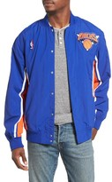 Mitchell & Ness Men's New York Knicks Tailored Fit Warm-Up Jacket