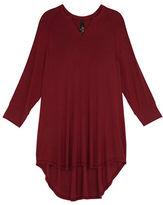 Melissa McCarthy Plus Long Sleeve V Neck Tunic