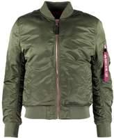 Alpha Industries PRECIOUS METALL Bomber Jacket sage green/kupfer