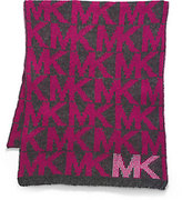 Michael Kors Studded Logo Scarf