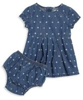 Splendid Baby's Faded Polka Dot Dress