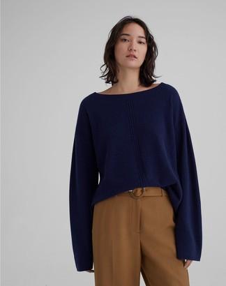 Club Monaco Cashmere Pointelle Knit Sweater