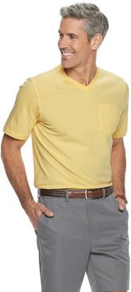Croft & Barrow Men's Classic-Fit Easy-Care V-Neck Pocket Tee
