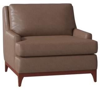 Durango Filkins Leather Armchair Union Rustic Body Fabric Espresso