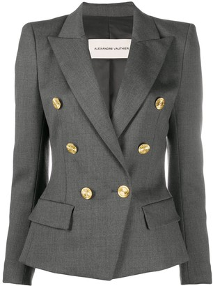 Alexandre Vauthier Double-Breasted Fitted Jacket