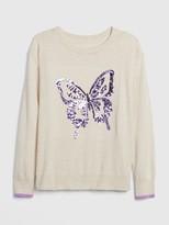Kids Sequin Graphic Sweater