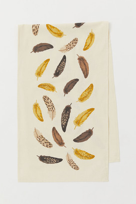 H&M Printed cotton table runner