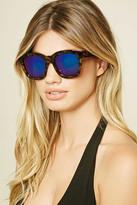 Forever 21 FOREVER 21+ Iridescent Square Sunglasses