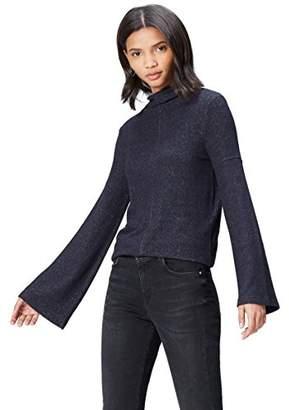 find. Women's Jumper Soft High Neck Long Sleeve,(Manufacturer size: Medium)