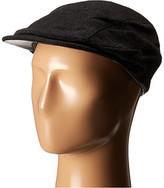 John Varvatos Leather Trim Ivy Hat