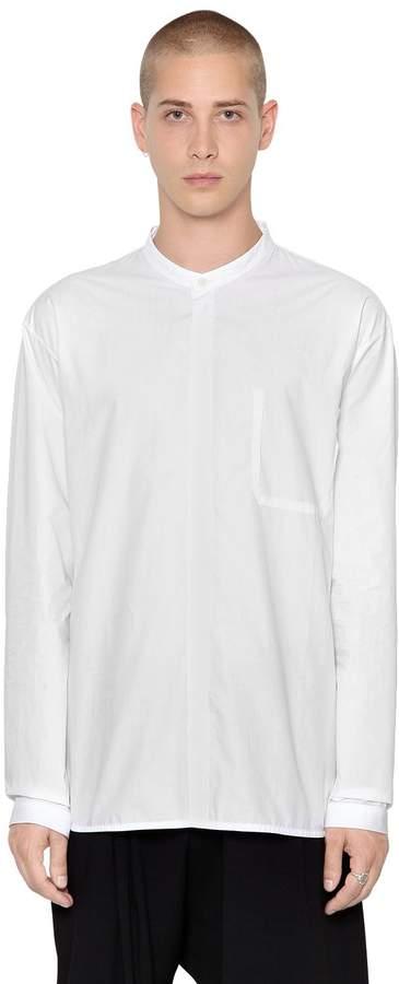 Isabel Benenato Essential Cotton Poplin Shirt
