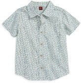 Tea Collection Flaminio Ponzio Print Woven Shirt (Toddler & Little Boys)
