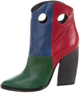 Pierre Hardy Color Block Ankle Boots w/ Tags