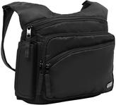 Lug Midnight Black Sidekick Excursion Shoulder Bag