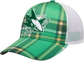 adidas Men's Kelly Green/White San Jose Sharks St. Patrick's Day Trucker Adjustable Snapback Hat