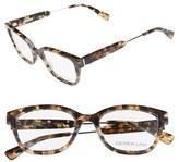 Derek Lam Women's 50Mm Optical Glasses - Black
