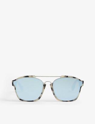 Christian Dior Abstract irregular-frame sunglasses