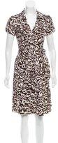 Diane von Furstenberg Silk Duenne Dress