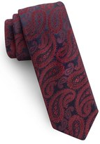 Ted Baker Men's Midnight Paisley Silk Tie