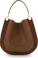 Diane von Furstenberg Leather & suede hobo