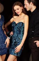 Alyce Paris - 4396 Short Dress In Sapphire