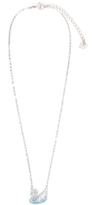 Swarovski Swan Pendant Necklace