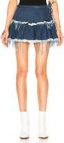Marques Almeida Marques ' Almeida Mini Frill Skirt