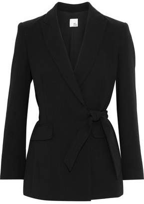 Iris & Ink Madison Cady Wrap Blazer