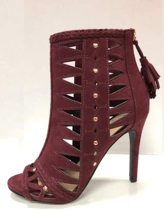 Delicious Shoes Detailed Wine Heels