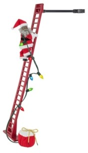 "Mr. Christmas 40"" Super Climbing African American Santa"