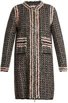 Moncler Gamme Rouge Ontario detachable-lining tweed coat