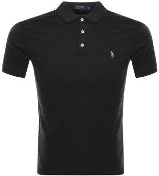 Ralph Lauren Slim Fit Polo T Shirt Black