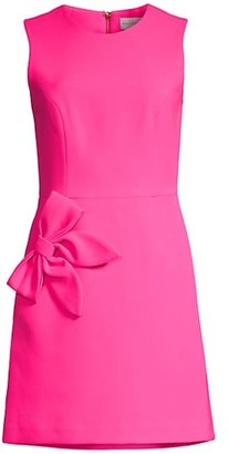 Rebecca Vallance Barbie Bow Mini Dress