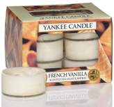 Yankee Candle French Vanilla Box of 12 Tealight Candles