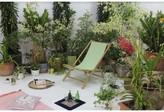 Peristeronari Folding Bamboo Relax Sling Beach Chair Bay Isle Home