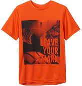 Tek Gear Boys 8-20 Leave Your Mark Basketball Tee